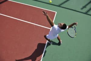 אימון טניס זוגי