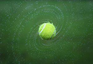כדור באמצע